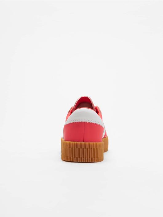 adidas originals Baskets Sambarose W rouge