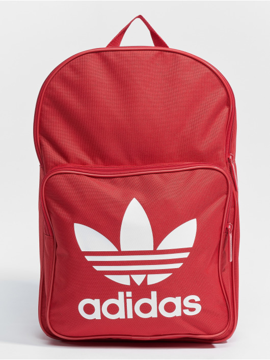 adidas originals Batohy Bp Clas Trefoil červený