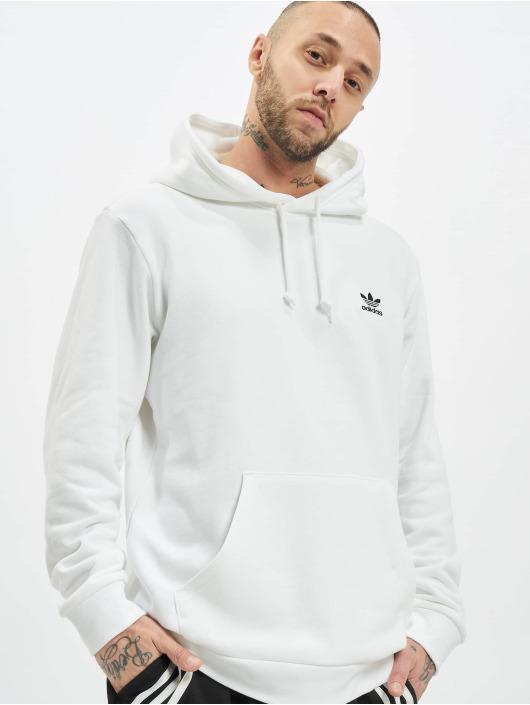 adidas Originals Bluzy z kapturem Essential bialy