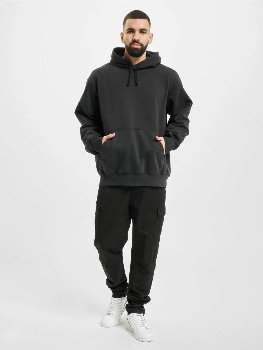 adidas Originals Bluzy z kapturem Dyed czarny