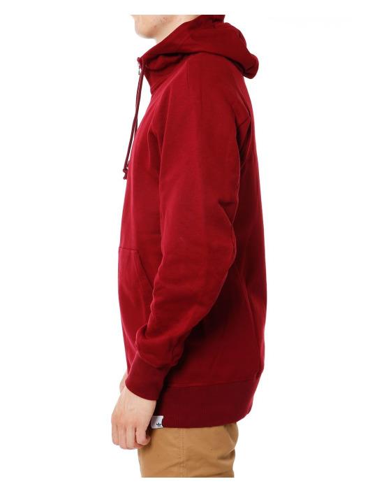 adidas Originals Bluzy z kapturem XBYO czerwony