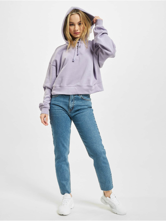 adidas Originals Bluzy z kapturem Originals fioletowy