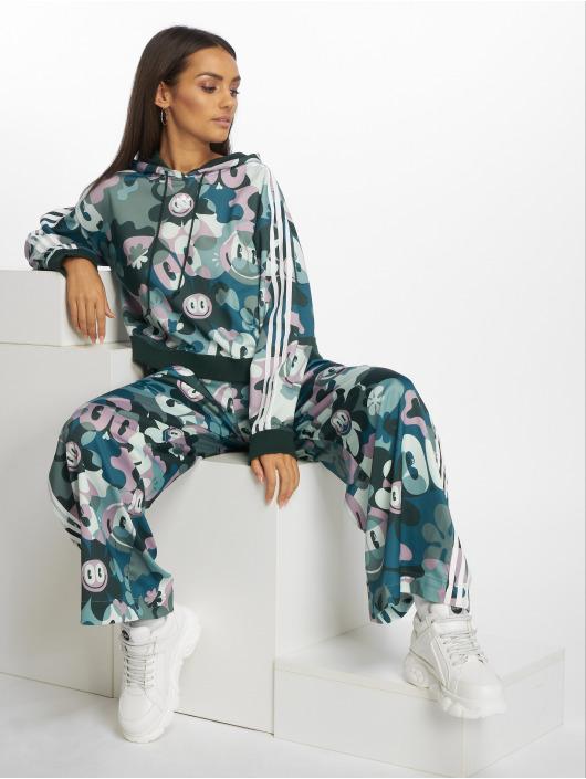 adidas Originals Bluzy z kapturem Cropped kolorowy