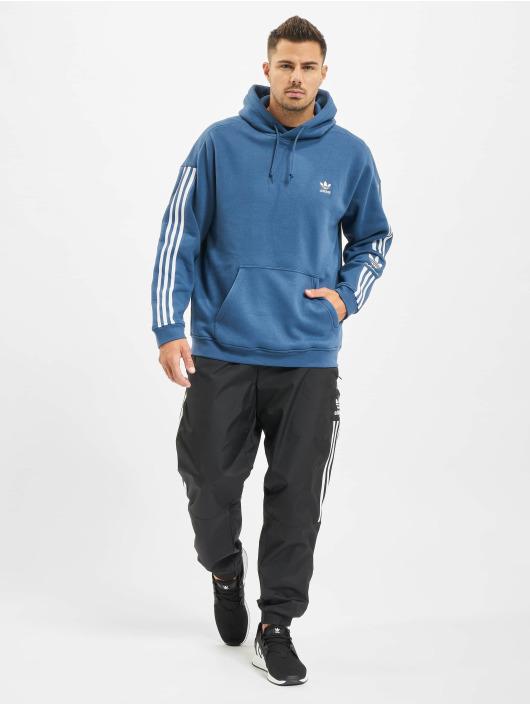 adidas Originals Bluzy z kapturem Tech niebieski