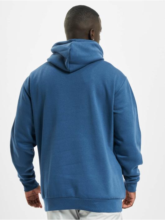 adidas Originals Bluzy z kapturem 3-Stripes niebieski