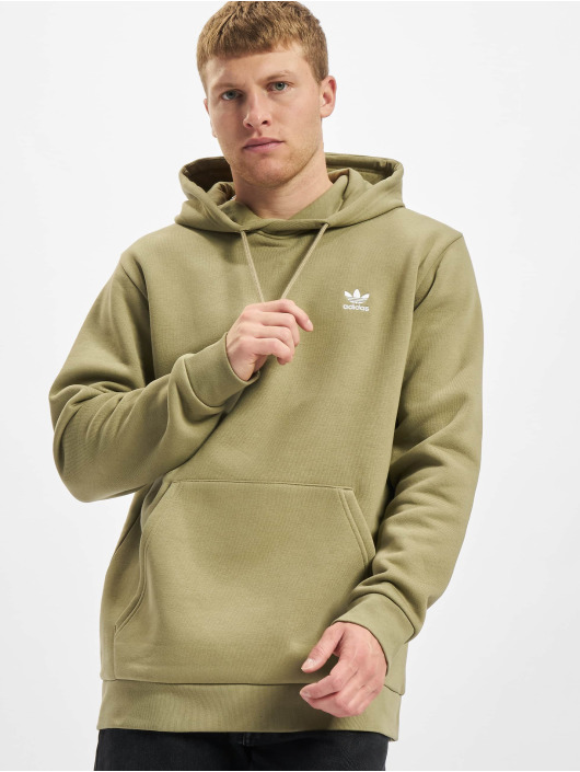 adidas Originals Bluzy z kapturem Essential oliwkowy