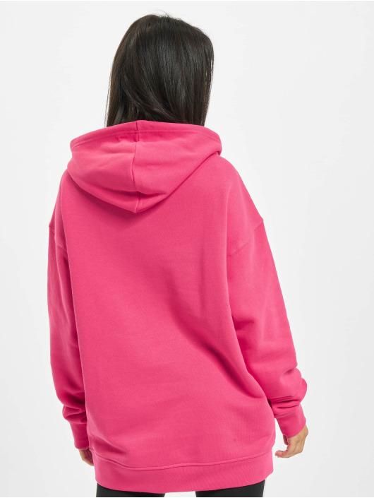 adidas Originals Bluzy z kapturem Trefoil pink
