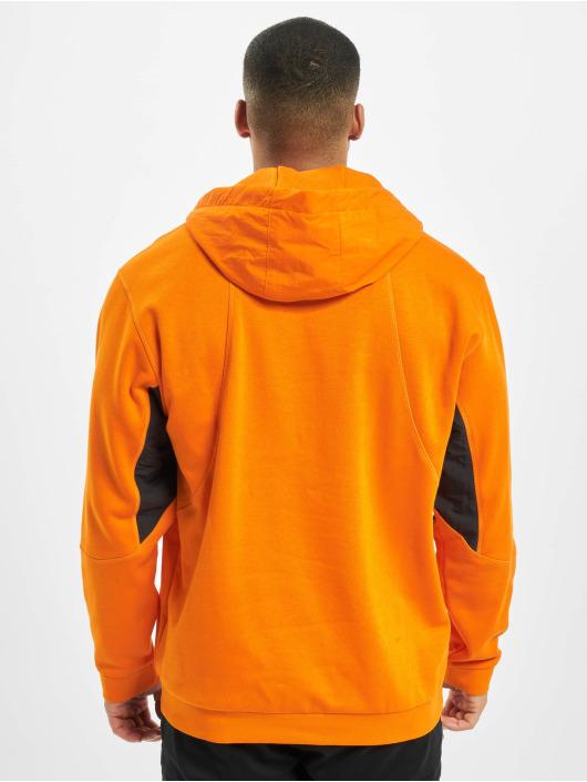 adidas Originals Bluzy z kapturem ADV Field pomaranczowy