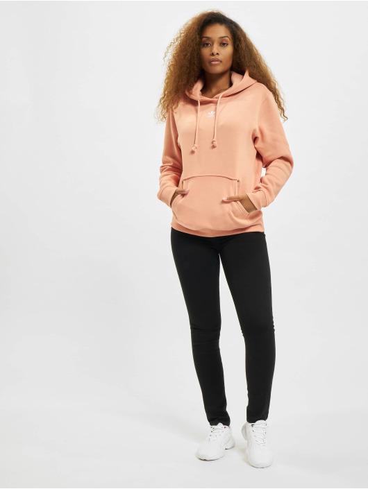 adidas Originals Bluzy z kapturem Originals pomaranczowy