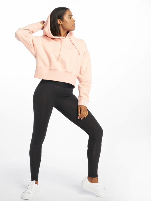 adidas Originals Bluzy z kapturem Coeeze rózowy