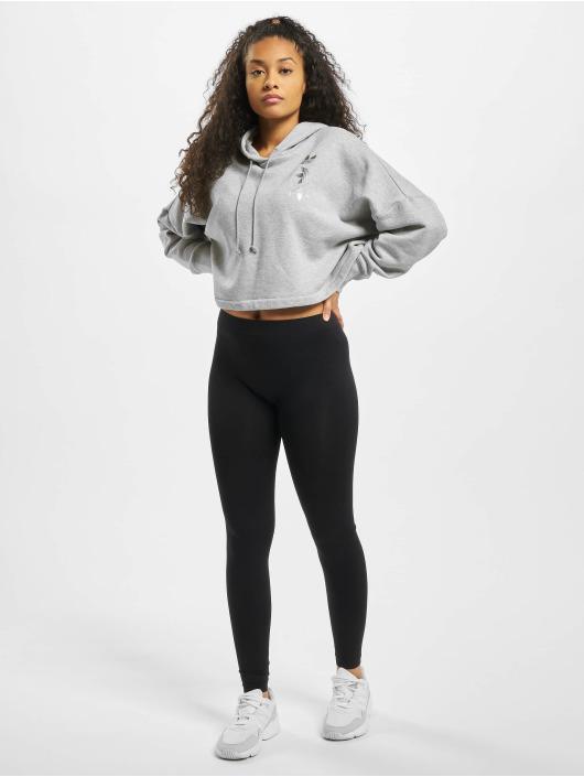 adidas Originals Bluzy z kapturem LRG Logo C- szary