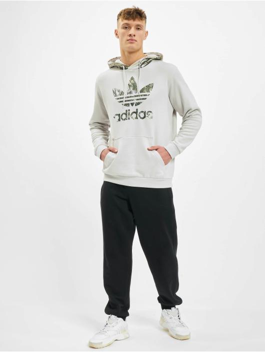 adidas Originals Bluzy z kapturem Camo szary