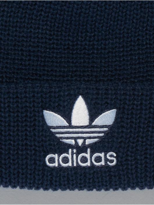 adidas originals Bonnet hiver Pom Pom bleu