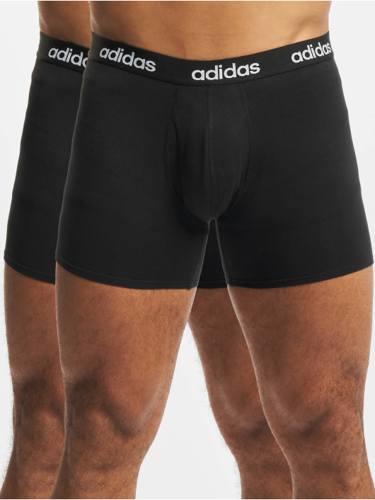 adidas Originals boxershorts Linear Brief 2 Pack zwart