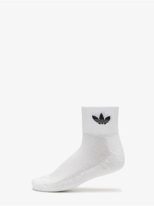 adidas Originals Calzino Mid Ankle bianco