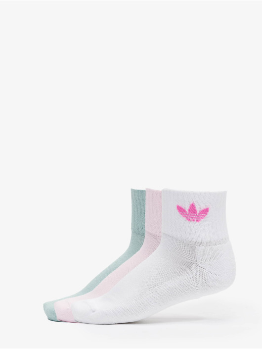 adidas Originals Calzino Mid bianco