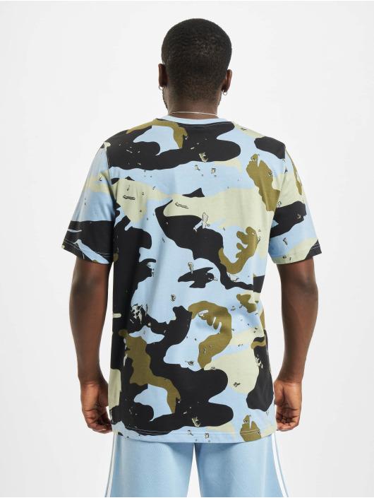 adidas Originals Camiseta Camo AOP azul