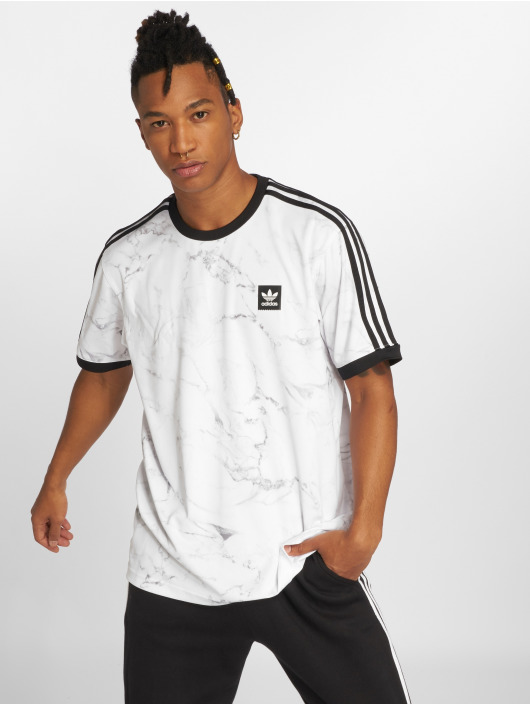 adidas originals Camiseta Mrble Aop Clb blanco
