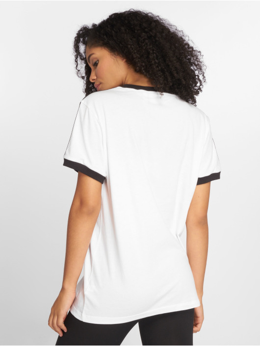 adidas originals Camiseta 3 Stripes blanco