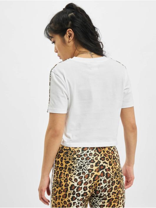 adidas Originals Camiseta Cropped blanco