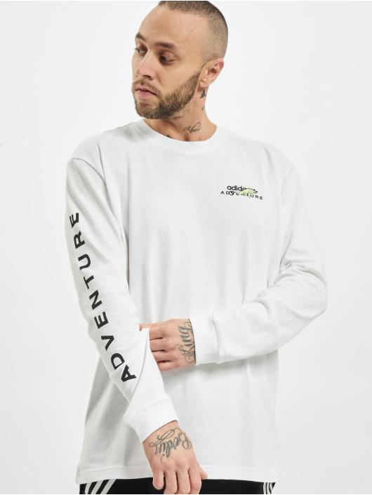 adidas Originals Camiseta de manga larga Adv blanco