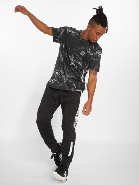adidas originals Camiseta Mrbl Stripe negro