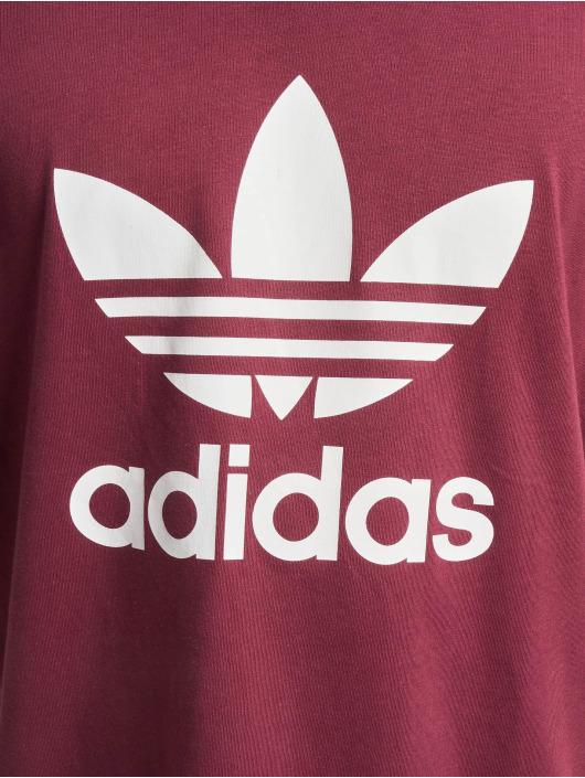 adidas Originals Camiseta Trefoil rojo