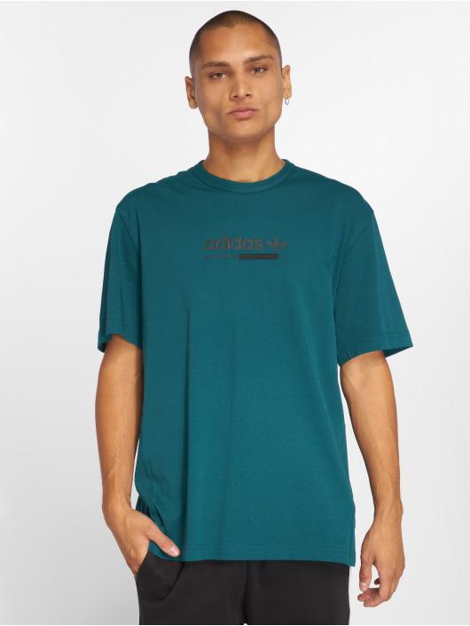 adidas originals Camiseta Kaval turquesa