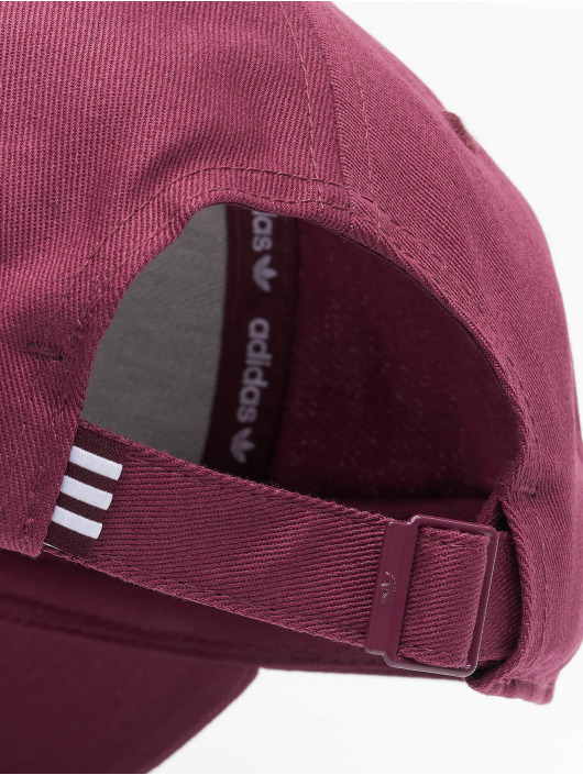 adidas Originals Casquette Fitted Baseball Class Trefoil rouge