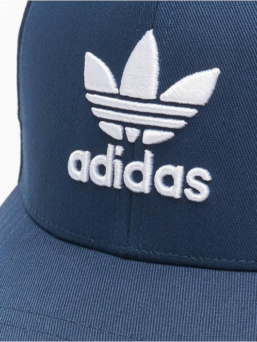adidas Originals Casquette Snapback & Strapback Classic Trefoil Baseball bleu