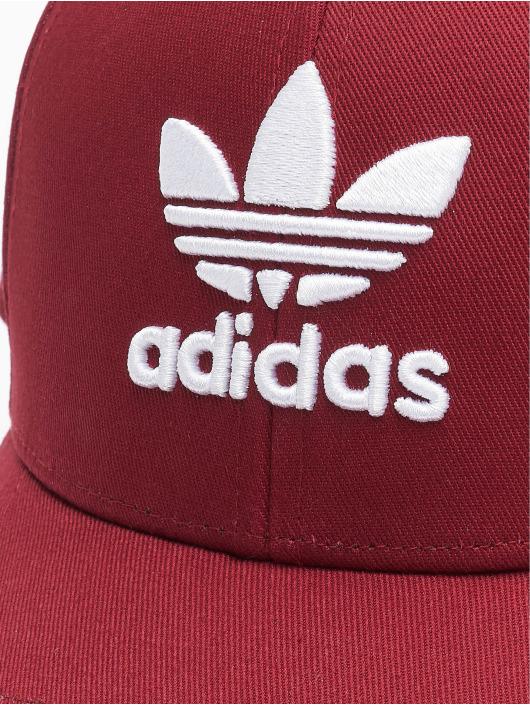 adidas Originals Casquette Snapback & Strapback Classic Trefoil Baseball rouge