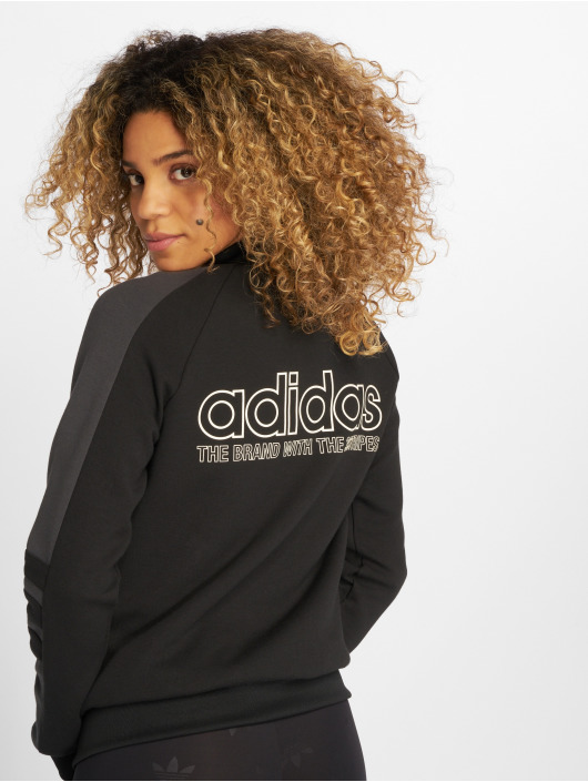 adidas originals Chaqueta de entretiempo Track Top Transition negro