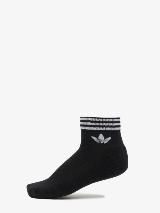 adidas Originals Chaussettes Trefoil Ankle 3 Pack noir