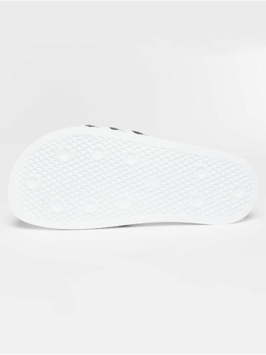 adidas Originals Claquettes & Sandales Stripy blanc