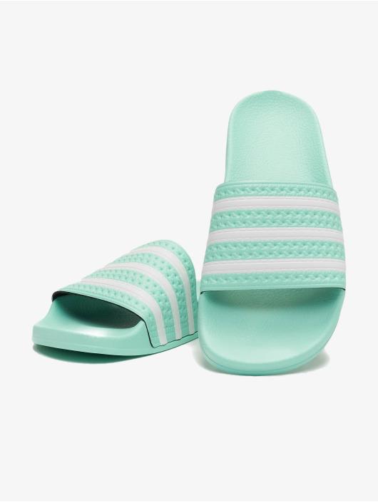 adidas Originals Claquettes & Sandales Adilette turquoise