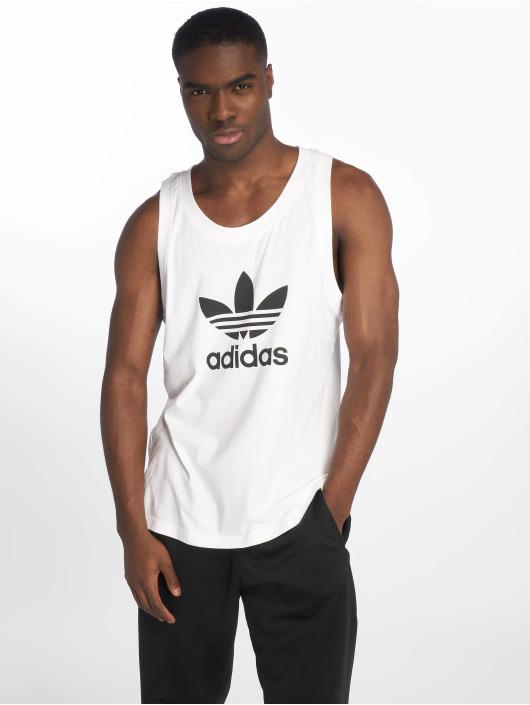 Adidas 599323 Débardeur Originals Blanc Trefoil Homme cTlFKJ31