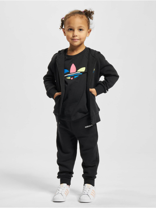 adidas Originals Dresy Hoodie czarny