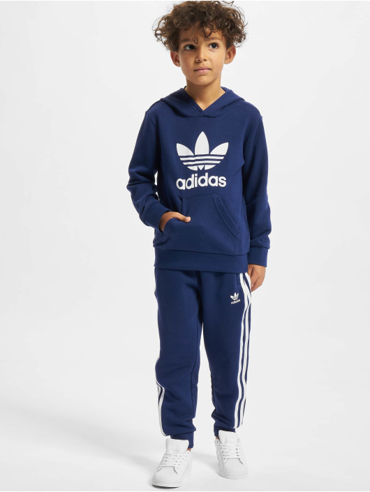 adidas Originals Dresy Hoodie niebieski
