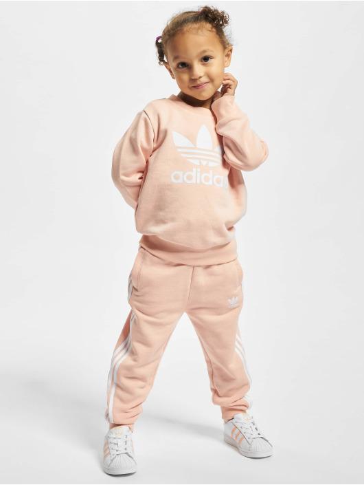 adidas Originals Dresy Crew pomaranczowy