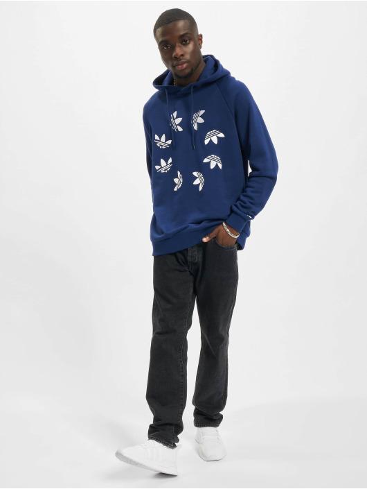 adidas Originals Felpa con cappuccio ST blu