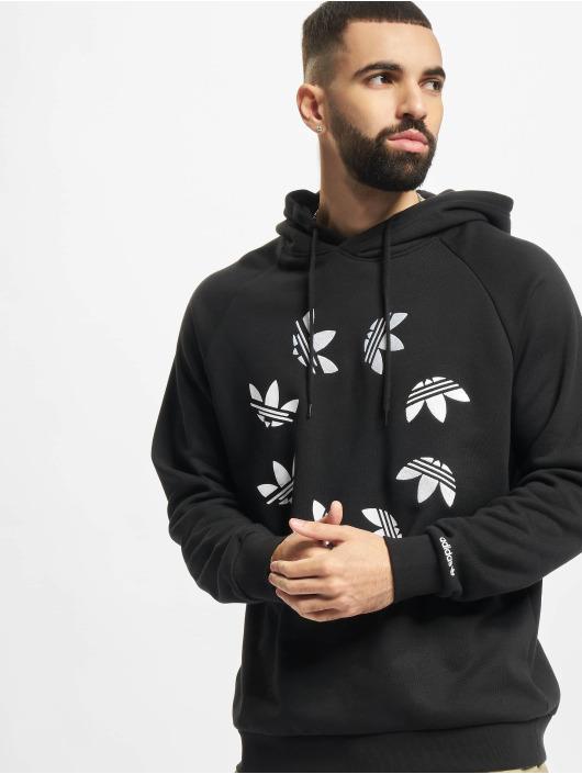 adidas Originals Felpa con cappuccio ST nero