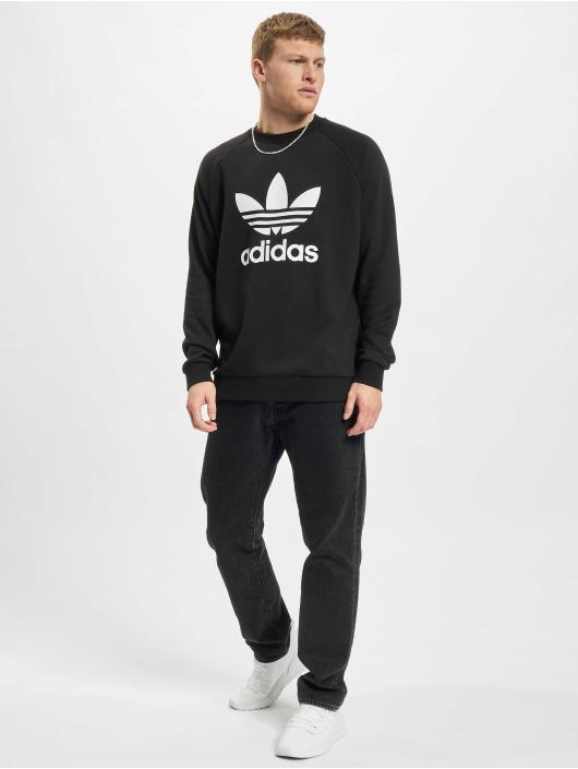 adidas Originals Gensre Trefoil Crew svart