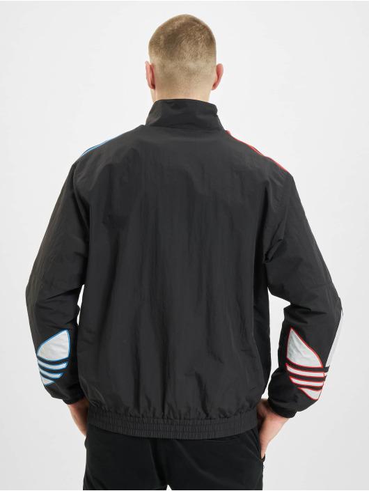 adidas Originals Giacca Mezza Stagione Tricolor nero