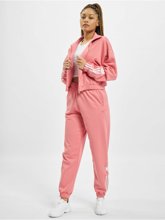 adidas Originals Giacca Mezza Stagione Track rosa chiaro