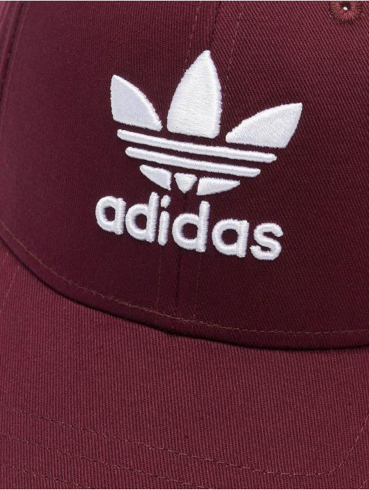 adidas Originals Gorra Snapback Classic Trefoil rojo
