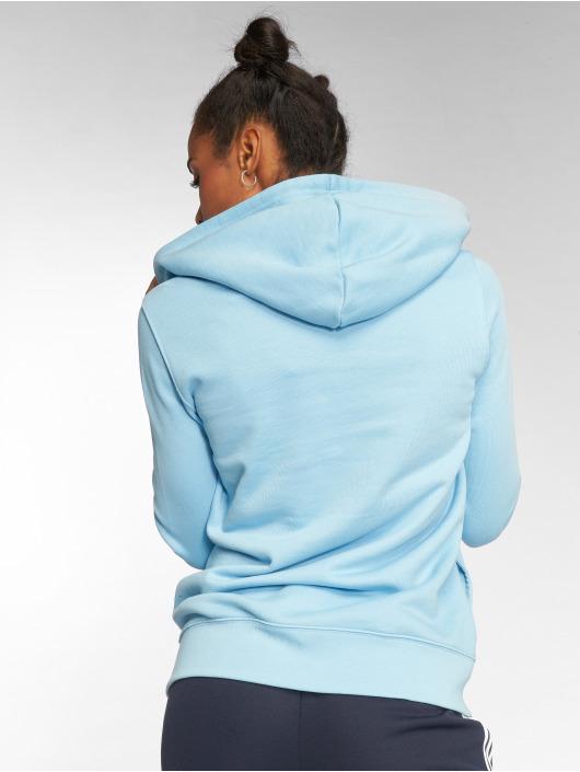 adidas originals Hoodie Trefoil blå