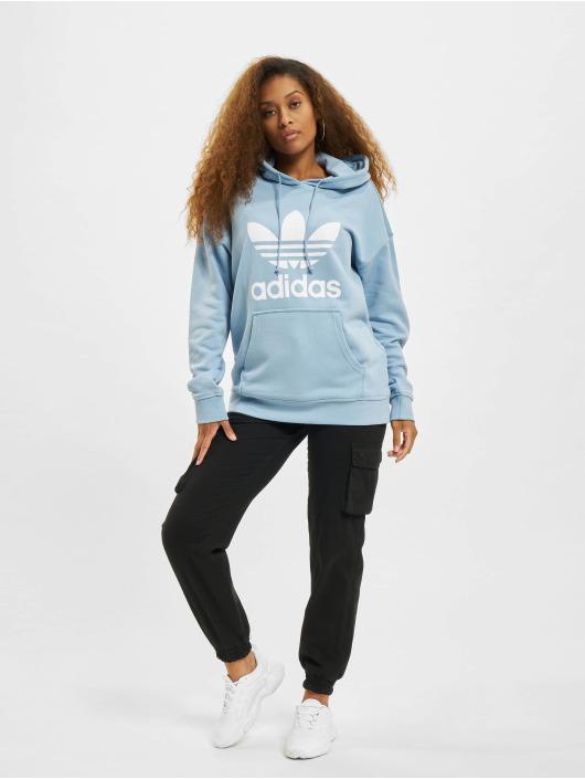 adidas Originals Hoodie TRF blå