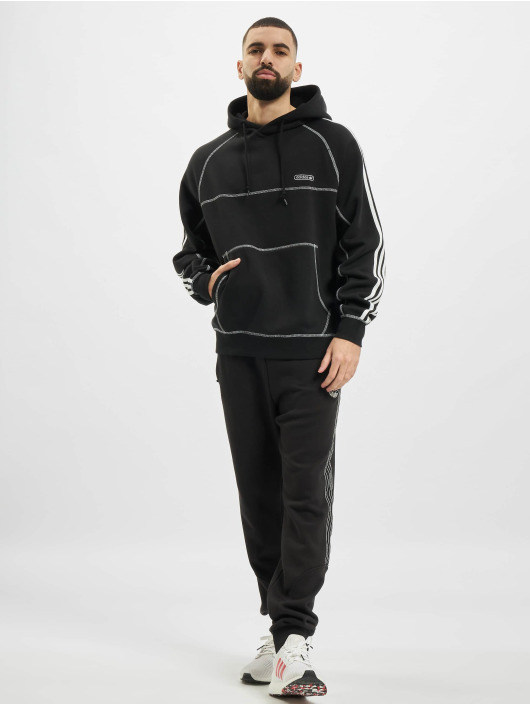adidas Originals Hoodie Contrast Stitch black