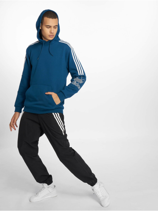 adidas Originals Hoodie Outline blue