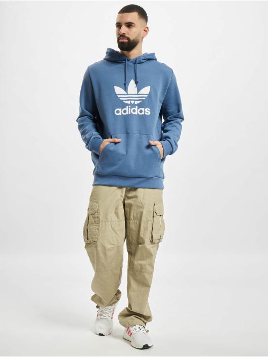adidas Originals Hoodie Trefoil blue